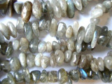 Labradorite Chip Nugget Beads 12-15mm (GS959)