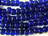 Crow Beads - Transparent Cobalt Blue Glass 9mm (CROW19)