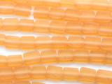 Cantaloupe Orange Tabular Resin Beads 10mm (RES217)