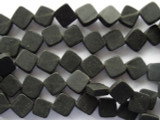 Black Diamond Tabular Resin Beads 10mm (RES339)