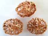 Oval Copper Wire Bead 20mm (CP54)
