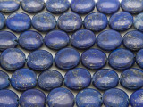 Lapis Lazuli Round Tabular Gemstone Beads 11mm (GS1293)