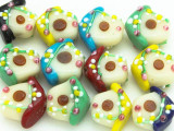 Birdhouse Glass Beads 20mm (LW1259)