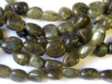 Labradorite Nugget Gemstone Beads 12-16mm (GS1388)