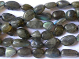 Labradorite Nugget Gemstone Beads 8-14mm (GS1392)