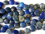 Lapis Lazuli Round Tabular Beads 10mm (GS1362)