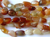 Carnelian Nugget Beads 8-10mm (GS1397)