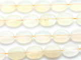 Pineapple Quartz Oval Tabular Gemstone Beads 20mm (GS1603)