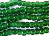 Crow Beads - Transparent Green Glass 9mm (CROW26)