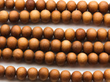 Sandalwood Prayer Beads Mala 8mm (NP503)