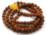 Rudraksha Prayer Beads Mala 10-12mm (NP537)