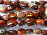 Red Jasper Nugget Beads (GS1672)
