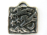Ponies Jumped Over the Moon - Pewter Pendant (PW320)