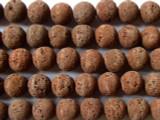 Lava Rock Round Beads 12mm (LAV49)