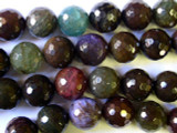 Agate Faceted Round Gemstone Beads 18mm (GS1817)