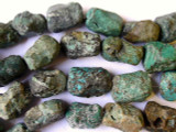 Natural Turquoise Nugget Beads 15-20mm (TUR133)