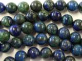Azurite Round Beads 12mm (GS1956)