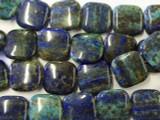 Azurite Square Tabular Beads 20mm (GS1957)
