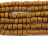 Cafe Brown Glass Beads 4-6mm (JV570)