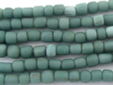 Light Teal Glass Beads 4-6mm (JV578)