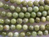 Green Garnet Round Beads 10mm (GS2019)