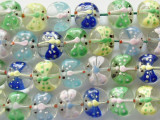 Dragonfly Lampwork Glass Beads 15-16mm (LW1364)