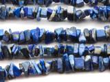 "Lapis Lazuli Chip Gemstone Beads - 34"" strand (GS2043)"