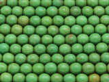 Green Howlite Round Gemstone Beads 7mm (GS2108)