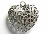 Heart - Pewter Pendant (PW599)