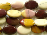 Moukaite Oval Tabular Gemstone Beads 32mm (GS2271)