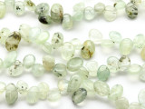 Prehnite Petal Nugget Gemstone Beads 15mm (GS2329)