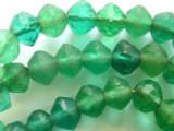 Green Vaseline African Trade Beads (RF333)