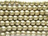 Silver Irregular Round Beads 8-10mm - Ethiopia (ME245)