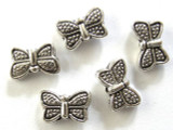Pewter Bead - Butterfly 10mm (PB288)