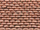Copper Rice Beads 9mm - Ethiopia (ME52)