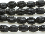 Old Glass Dog Tooth Trade Beads - African (AT57)