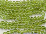 Peridot Round Gemstone Beads 4mm (GS2602)