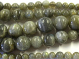 Labradorite Graduated Round Gemstone Beads 6-16mm (GS2626)