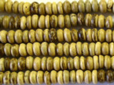 Natural Heishi Wood Beads 5mm - Indonesia (WD234)