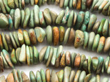 Green Turquoise Chip Beads 8-10mm (TUR565)