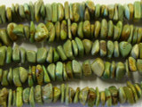 Green Turquoise Nugget Beads 8-11mm (TUR569)