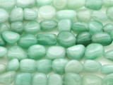 Green Aventurine Nugget Gemstone Beads (GS156)