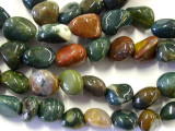 Fancy Jasper Nugget Beads (GS149)