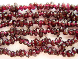"Garnet Chip Gemstone Beads - 32"" strand (GS346)"