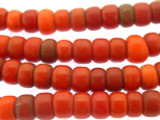 Old Red Padre Trade Beads 10mm (AT3403)
