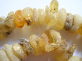 Large Raw & Rough Amber Beads - Africa (OS9)