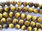 Tiger's Eye Round Gemstone Beads 8mm (GS589)