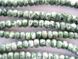 Tree Agate Rondelle Beads 5-6mm (GS621)