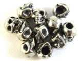 Skull - Pewter Bead 9mm (PW87)