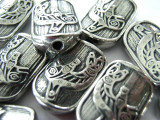 Orca - Northwest Totem - Pewter Bead/Talisman (PWT20)